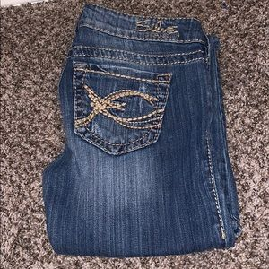 Silver brand low waisted jeans